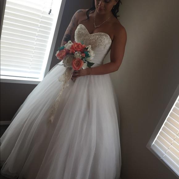 David's Bridal Dresses & Skirts - Wedding dress!